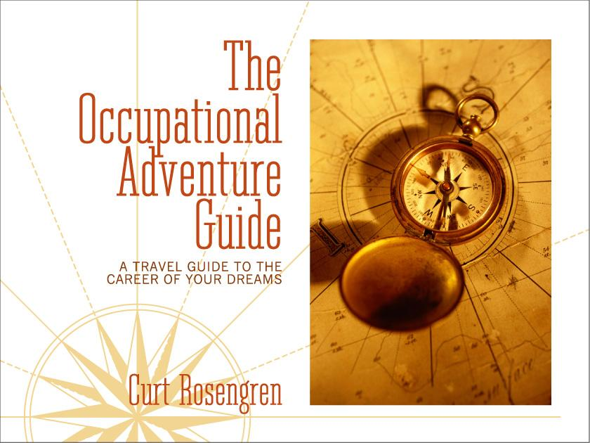 Guide Book Cover Design : The occupational adventure tm book cover design taste